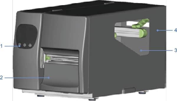 Godex EZ2050 EZ2150 series Máy in tem mã vạch Godex EZ2050 Máy in tem mã vạch Godex EZ2150