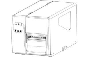 Thân máy Godex EZ Máy in tem mã vạch Godex EZ2050 Máy in tem mã vạch Godex EZ2150