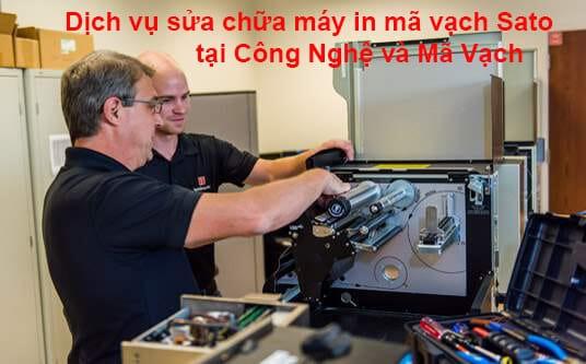 Dịch vụ sửa chữa máy in mã vạch Sato
