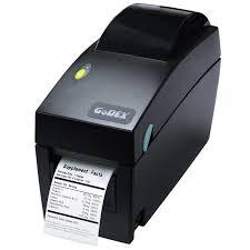 Hình ảnh mình họa máy in tem nhãn mã vạch để bàn Godex DT2x
