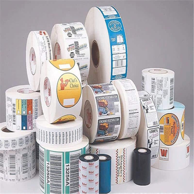 Giấy nguyên liệu in tem nhãn, Sticker, Label.