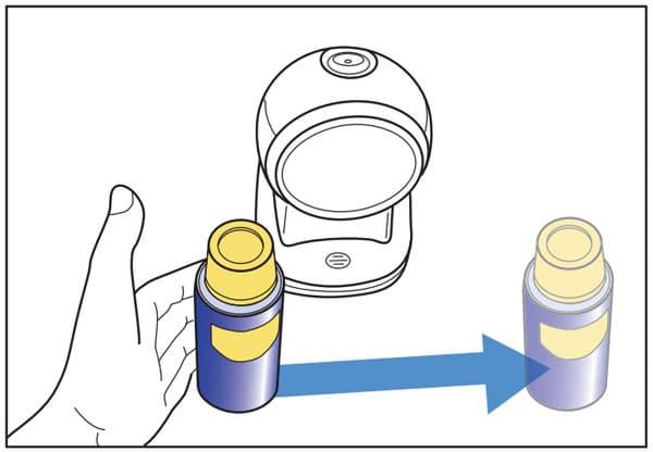 Hướng quét mã vạch sản phẩm đối với Datalogic CO5300