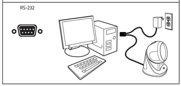 Kết nối Datalogic CO5300 với máy tính