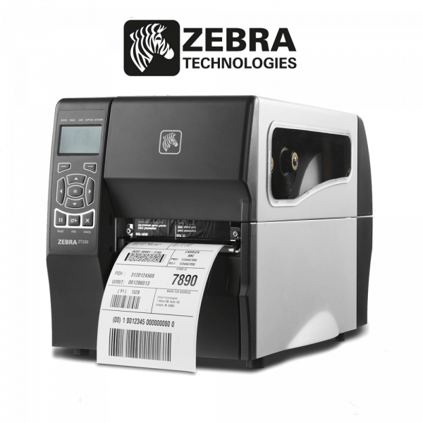 Máy in mã vạch giá rẻ Zebra