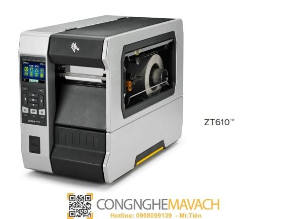 máy in mã vạch Zebra ZT610