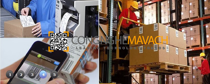 Ứng dụng máy in mã vạch công nghiệp
