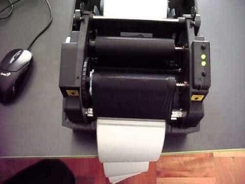 Cuộn mực, giấy in máy in mã vạch Bixolon T403
