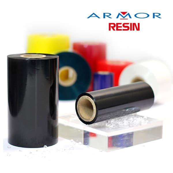 Ribbon mực in mã vạch Armor resin