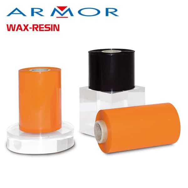 Ribbon mực in mã vạch Armor wax resin