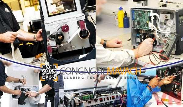 Sửa máy in mã vạch tại nhà