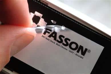 Giấy in mã vạch Fasson