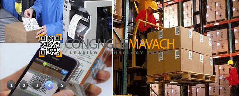 Máy in mã vạch công nghiệp nặng
