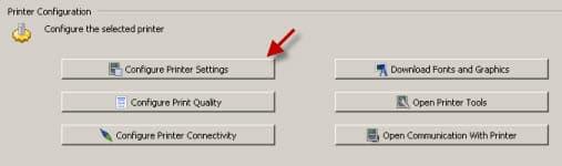 Hướng dẫn cài đặt độ đậm nhạt cho dòng máy in mã vach ZT, RZ, ZM
