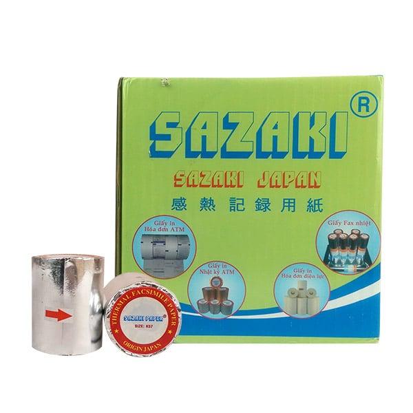 Hình ảnh cuộn giấy in hóa đơn Sazaki K57